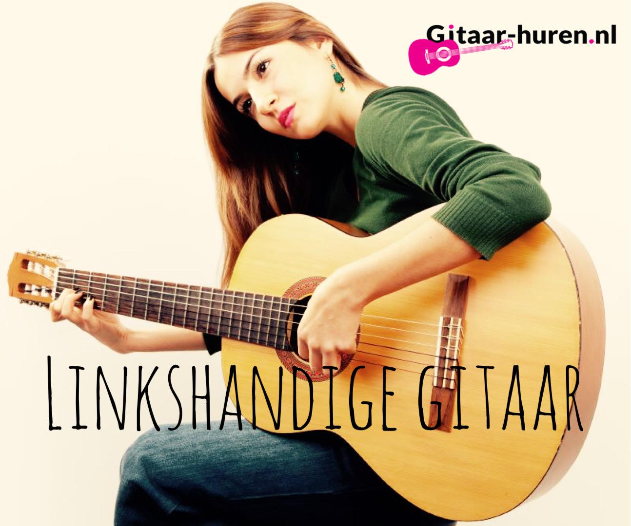 Linkshandig gitaar spelen